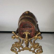 Antigüedades: MINI BARRIL CON GRIFO. Lote 169925896