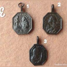 Antigüedades: ANTIGUAS MEDALLAS RELIGIOSAS DE LOS SIGLOS XVI-XVII. Lote 169937802