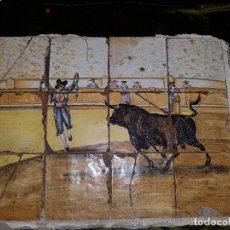 Antigüedades: PAÑO AZULEJOS DE TRIANA. SIGLO XIX-XX. Lote 169980536