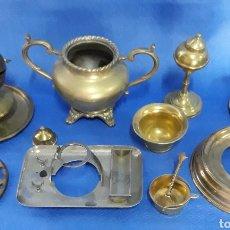 Antigüedades: LOTE CACHARROS DE METAL. Lote 170018813