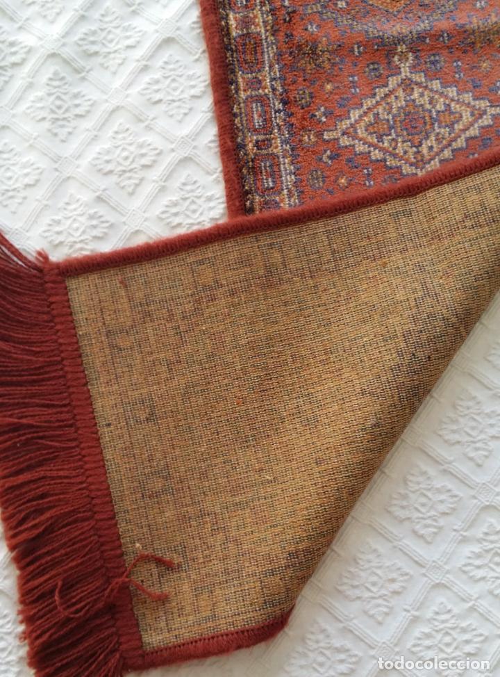 Antigüedades: Pareja alfombras miniatura - Foto 6 - 170048653