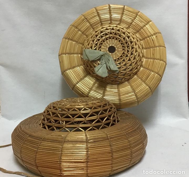 Antigüedades: SOMBREROS CHICHONERAS O DE COP S. XIX - Foto 2 - 170074776