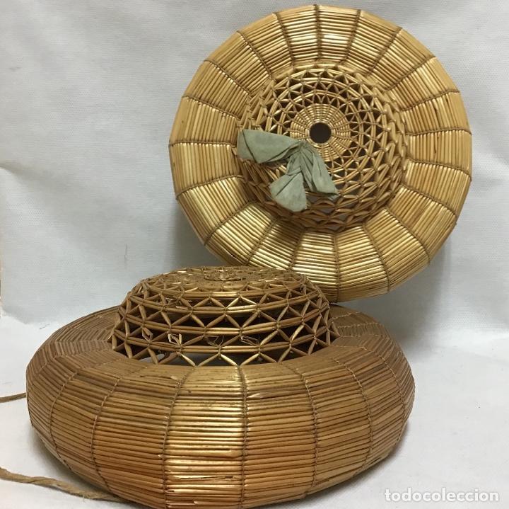 SOMBREROS CHICHONERAS O DE COP S. XIX (Antigüedades - Moda - Sombreros Antiguos)