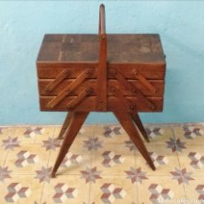 Antigüedades: COSTURERO MADERA. Lote 170081018