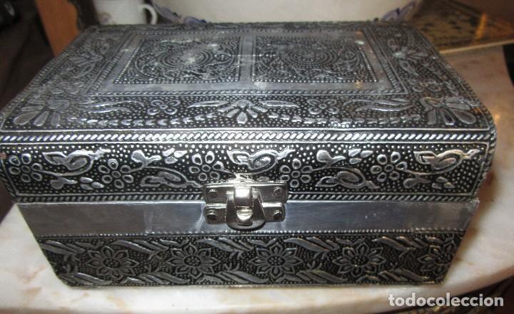 CAJA JOYERO, CORTADITOS (Antigüedades - Hogar y Decoración - Cajas Antiguas)