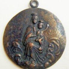 Antigüedades: MEDALLA RELIGIOSA COBRE 35 MM. Lote 170106044