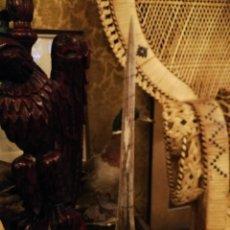 Antigüedades: ANTIGUO CUERNO O PICO MARINO. Lote 170111984