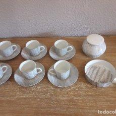 Antigüedades: JUEGO DE CAFÉ CASTRO SELLO DOLMEN. Lote 152496978