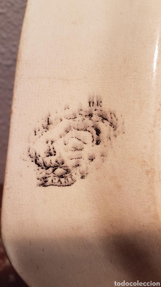 Antigüedades: BANDEJA OCHAVADA LA AMISTAD - CARTAGENA SERIE CINEGETICA SIGLO XIX - Foto 7 - 170123285