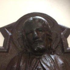 Antigüedades: BICENTENARIO CORAZÒN DE JESÚS DE HIERRO ANTIGUA FACHADA COLEGIO MARISTA.. Lote 170142320