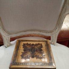 Antigüedades: CAJA MADERA. Lote 170158442