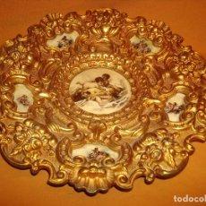 Antigüedades: PLATO DE BRONCE. Lote 183293617