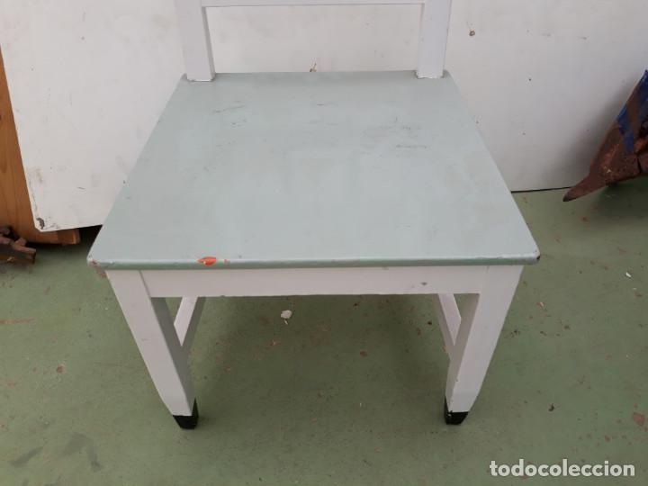 Antigüedades: silla de madera - Foto 2 - 170164376