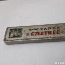 Antigüedades: CAJA EN LATA. Lote 170164932