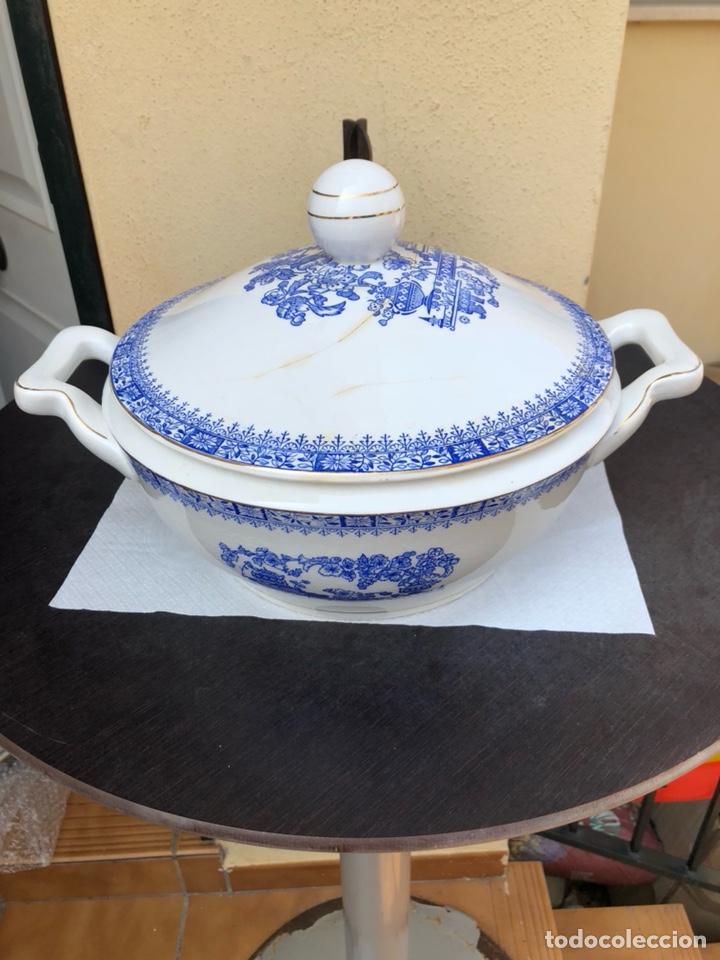 BONITA SOPERA ROSAL CHINA VIGO (Antigüedades - Porcelanas y Cerámicas - Santa Clara)