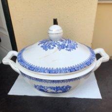 Antigüedades: BONITA SOPERA ROSAL CHINA VIGO. Lote 170170188