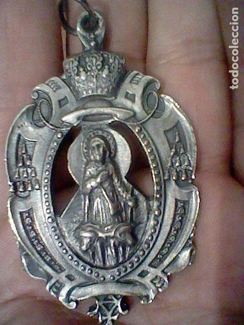 TORREMOCHA SAN ISIDRO HERMANDAD MEDALLA MEDALLON PROCESIONAL O SIMILAR METAL (Antigüedades - Religiosas - Medallas Antiguas)