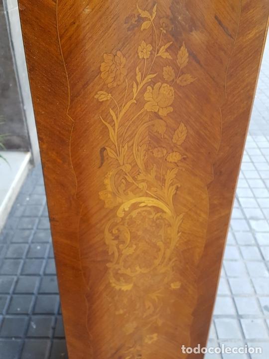 Antigüedades: ESCRITORIO ABATTANT. MARQUETERÍA DE LIMONCILLO. ESTILO LUIS XV. ESPAÑA. SIGLO XIX-XX. - Foto 8 - 170178304