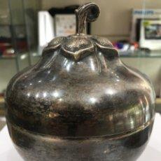 Antigüedades: CAJA DE ALPACA. Lote 170178750