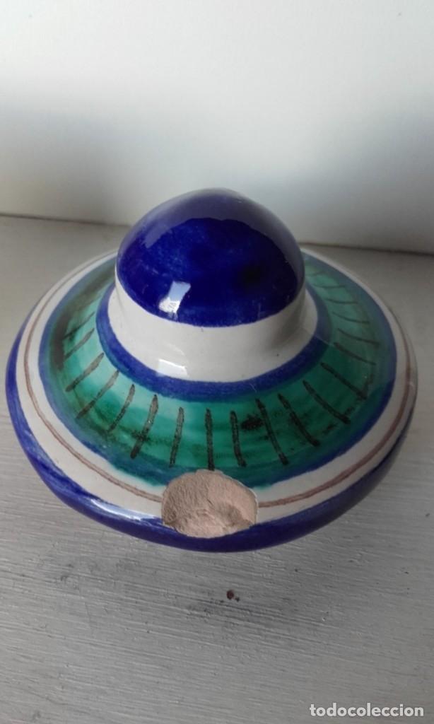 Antigüedades: Tintero cerámica Triana - Foto 6 - 170109344