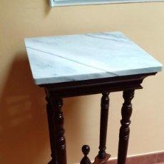 Antigüedades: MUEBLE MADERA TORNEADA Y MARMOL / ULTIMOS DIAS / SOLO RECOGIDA MADRID. Lote 170245297