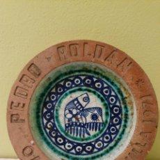 Antigüedades: RELIQUIA DE CENICERO DE LOS GRANDES ALMACENES PEDRO ROLDAN (SEVILLA) 1971. Lote 170273401