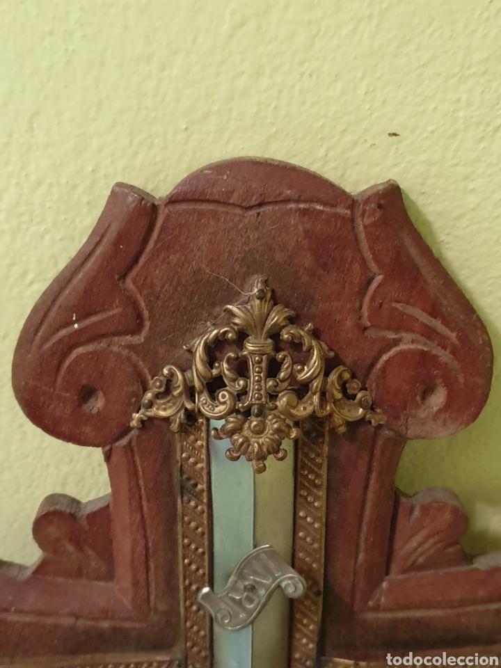 Antigüedades: PRECIOSA Y ANTIGUA BENDITERA - Foto 3 - 170275608