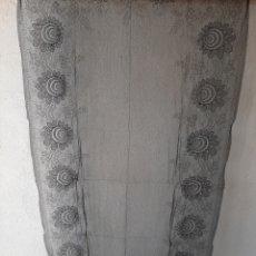 Antigüedades: ANTIGUA MANTILLA/MANTELLINA NEGRA. Lote 170276788