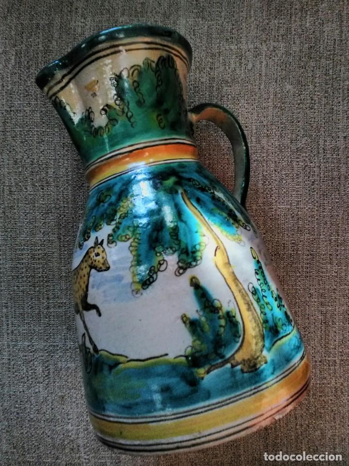 Antigüedades: Jarra antigua de cerámica Puente del Arzobispo - Foto 2 - 170283172