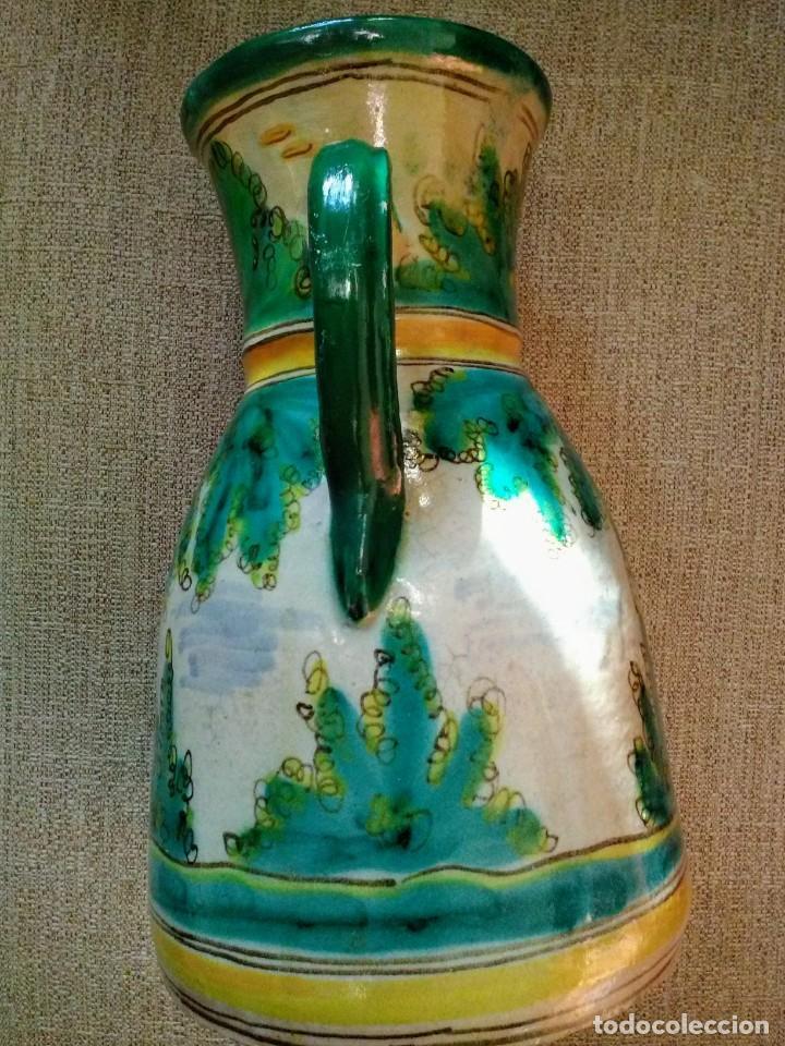 Antigüedades: Jarra antigua de cerámica Puente del Arzobispo - Foto 3 - 170283172
