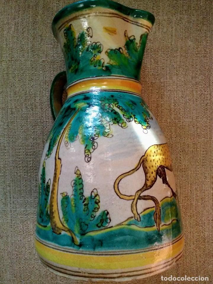 Antigüedades: Jarra antigua de cerámica Puente del Arzobispo - Foto 4 - 170283172