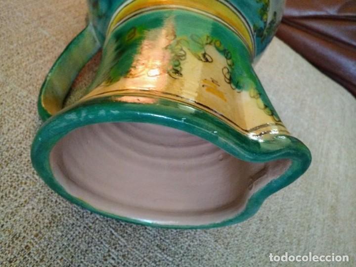 Antigüedades: Jarra antigua de cerámica Puente del Arzobispo - Foto 5 - 170283172