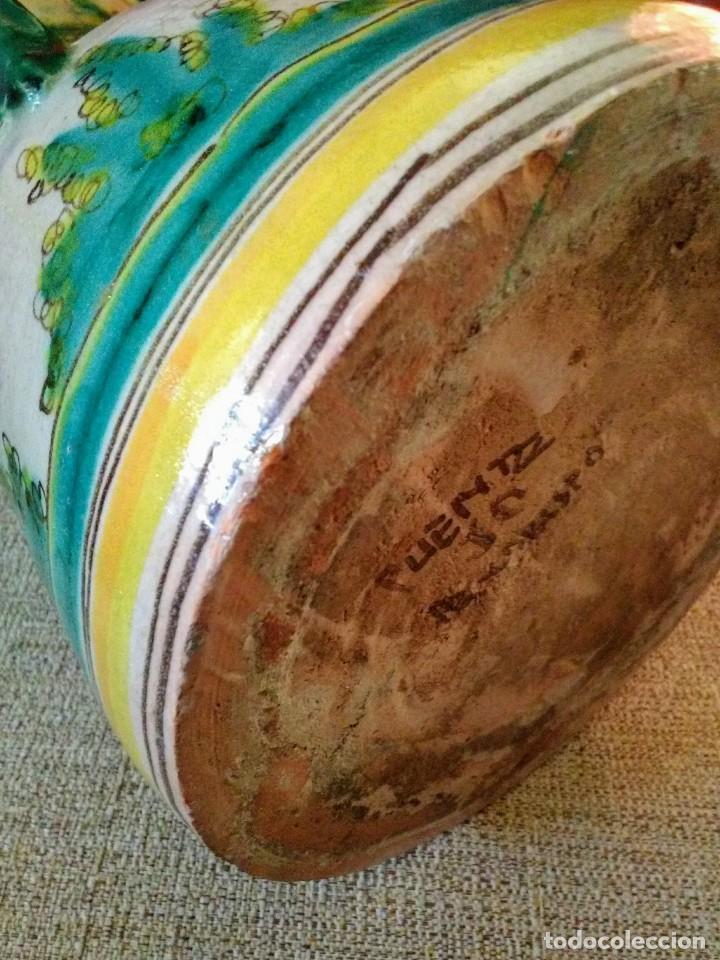 Antigüedades: Jarra antigua de cerámica Puente del Arzobispo - Foto 6 - 170283172