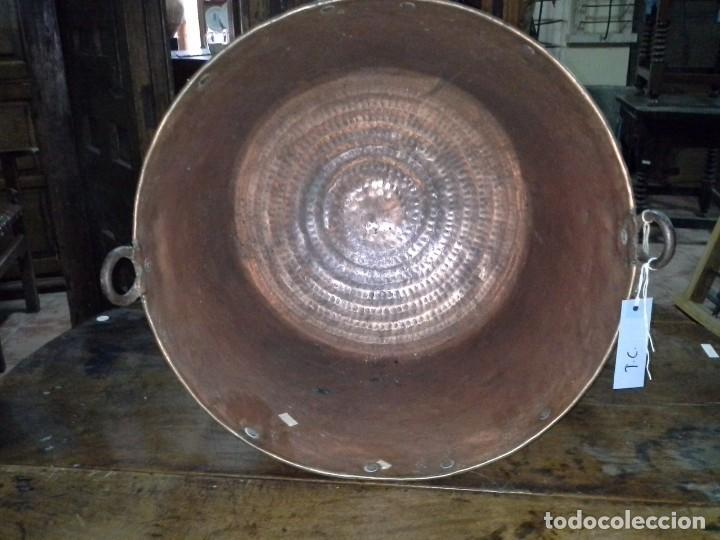 Antigüedades: CALDERA DE COBRE - Foto 5 - 170294340