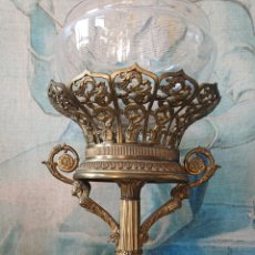 Antigüedades: ESPECTACULAR CENTRO SOBREMESA EN BRONCE FRANCÉS MITAD DEL SIGLO XIX. Lote 170317102