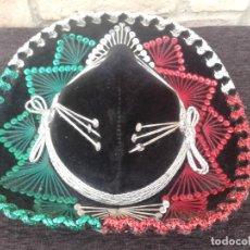 Antigüedades: SOMBRERO MEXICANO INFANTIL SALAZAR YEPEZ , HECHO EN MÉXICO. Lote 170324804