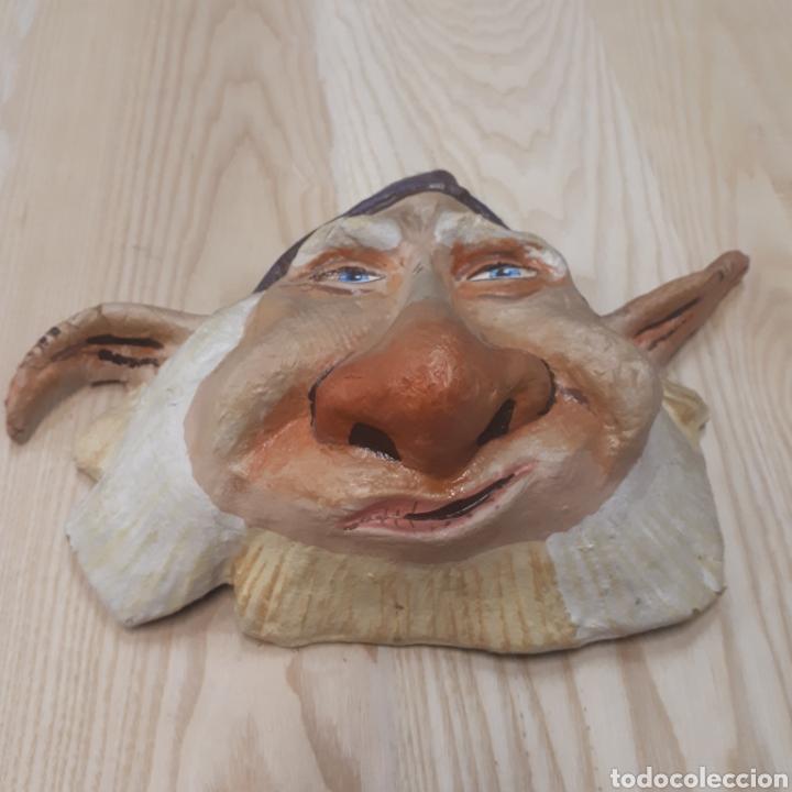 Antigüedades: Máscara Papel mache - Foto 2 - 170338802