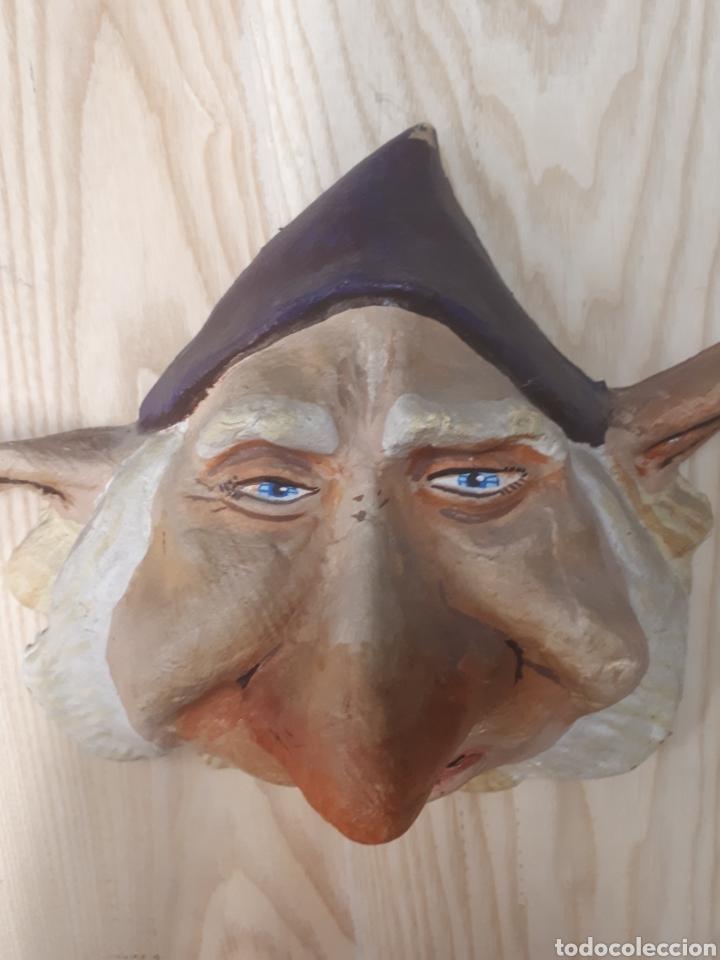 Antigüedades: Máscara Papel mache - Foto 3 - 170338802