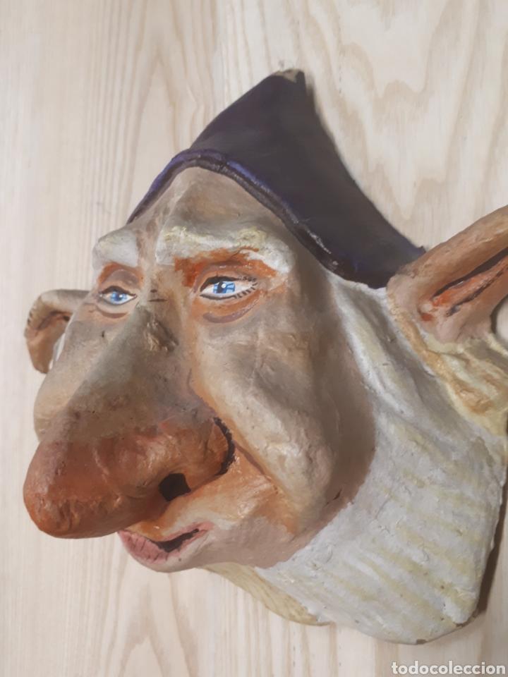 Antigüedades: Máscara Papel mache - Foto 4 - 170338802
