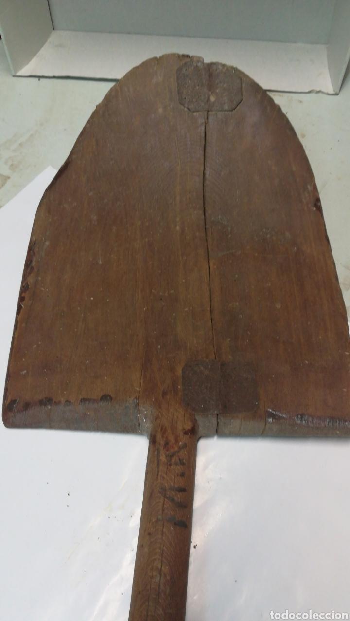 Antigüedades: Pala de madera - Foto 2 - 170362157