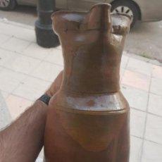 Antigüedades: IMPRESIONANTE JARRA DEL VINO DE UBEDA XIX. Lote 170379472