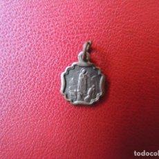 Antigüedades: MEDALLA VIRGEN DE FÁTIMA Y CORAZÓN DE JESÚS, MEDIADOS S.XX. Lote 170415136