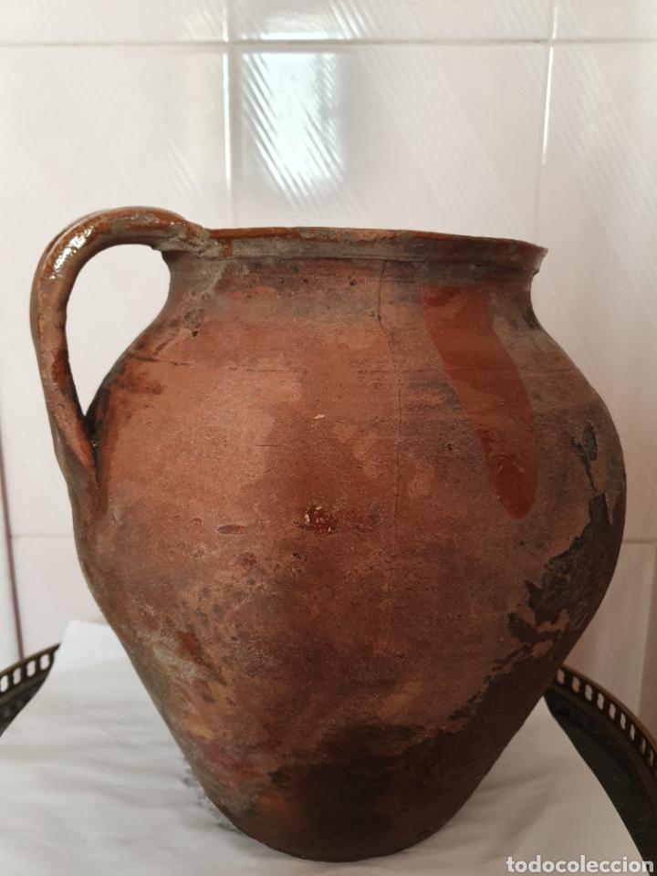 Antigüedades: ANTIGUO Y GRAN PUCHERO DE DOS ASAS - Foto 2 - 170424720