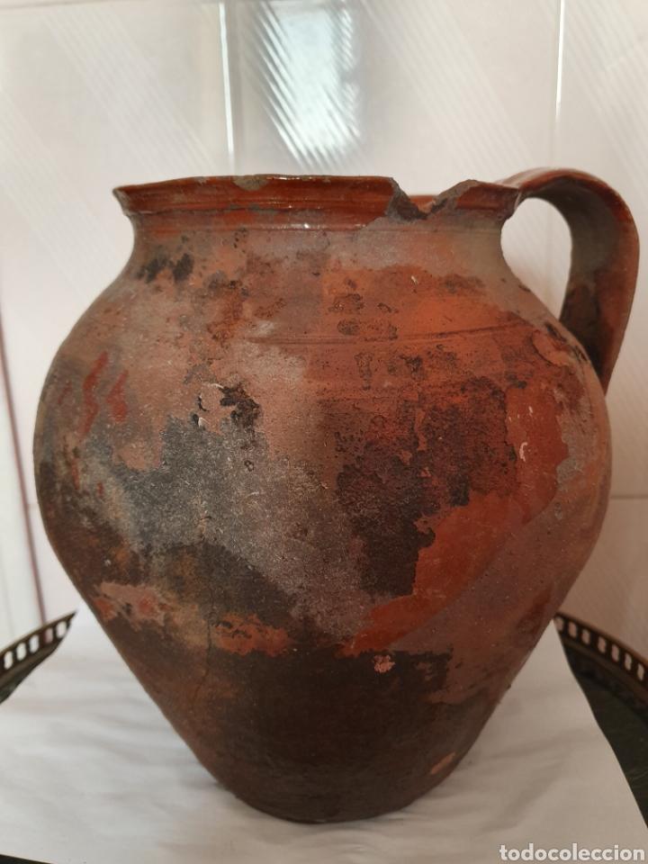 Antigüedades: ANTIGUO Y GRAN PUCHERO DE DOS ASAS - Foto 4 - 170424720