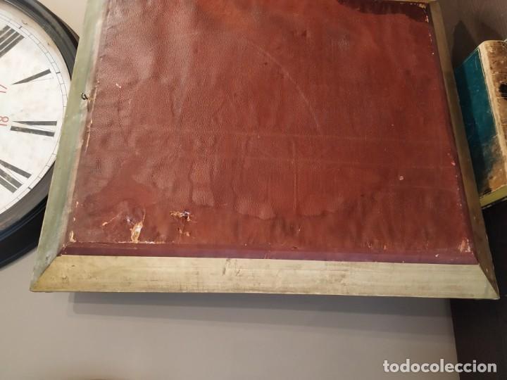 Antigüedades: ANTIGUO ESPEJO DORADO MADERA Y ESTUCO. - Foto 12 - 170435048