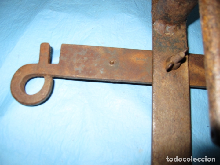 Antigüedades: PIEZA MUY RARA ROMPE PIERNAS PARA CEMENTERIOS LADRONES , HUERTOS ETC PIEZA DE MUSEO ETNOGRAFICA - Foto 12 - 170452776