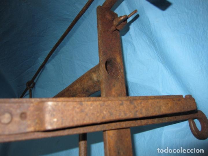 Antigüedades: PIEZA MUY RARA ROMPE PIERNAS PARA CEMENTERIOS LADRONES , HUERTOS ETC PIEZA DE MUSEO ETNOGRAFICA - Foto 13 - 170452776