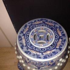 Antigüedades: TABURETE CHINO. Lote 170458065