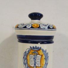 Antigüedades: ALBARELO DE FARMACIA J.A. FROILAN - TALAVERA. Lote 170467208