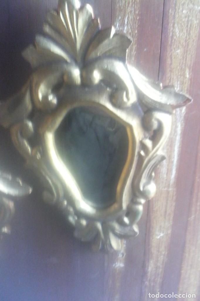 Antigüedades: 2 ESPEJOS CORNUCOPIAS . - Foto 4 - 170482992